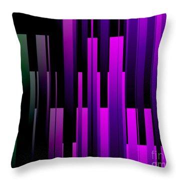 Downtown Throw Pillow by Kristi Kruse