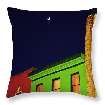 Downtown Owen Sound Throw Pillow