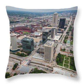 Downtown St Louis Throw Pillow