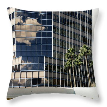 Downtown Tucson Throw Pillow