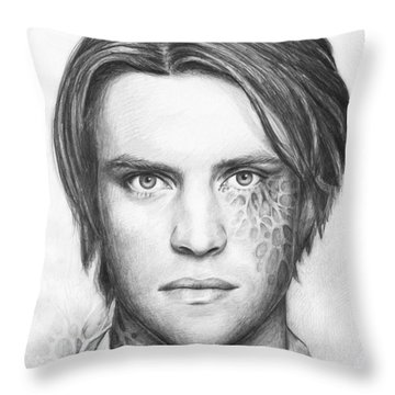 Dr. Chase - House Md Throw Pillow by Olga Shvartsur