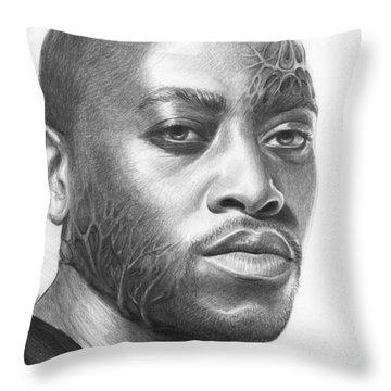 Dr. Foreman - House Md Throw Pillow by Olga Shvartsur