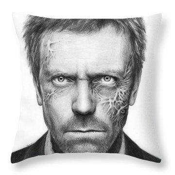 Celebrity Portrait Throw Pillows