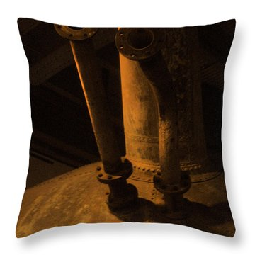 Throw Pillow featuring the photograph Dr. S Horn by Kandy Hurley