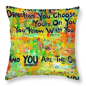 Dr. Suess Throw Pillow
