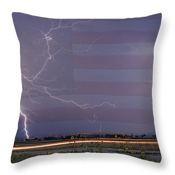 Drag On Usa Throw Pillow by James BO  Insogna