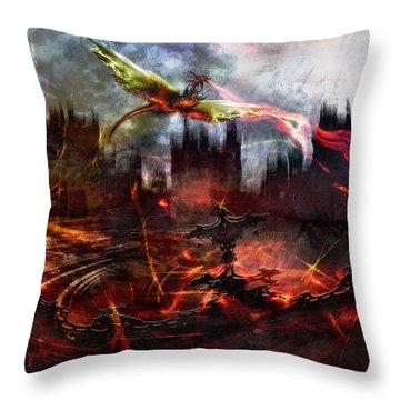 Dragon Age Throw Pillow