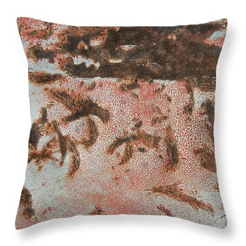 Throw Pillow featuring the photograph Dragon Doppelganger Abstract Square by Lee Craig