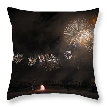 Dragon Of Light.. Throw Pillow