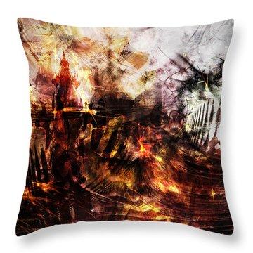 Dragon Realms IIi Throw Pillow