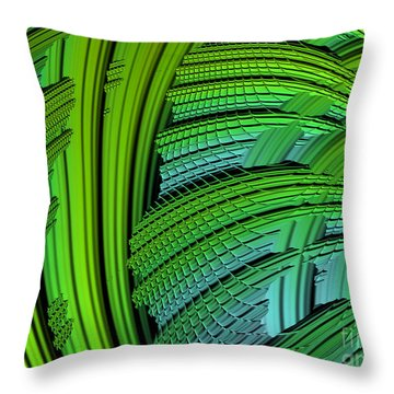 Dragon Skin Throw Pillow