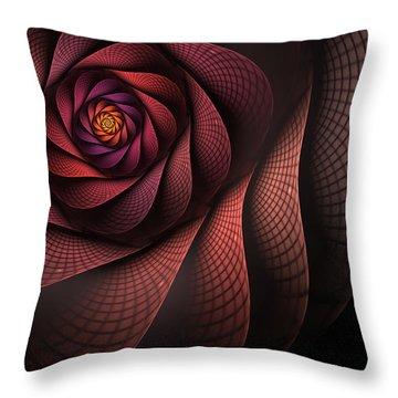Dragonheart Throw Pillow by John Edwards