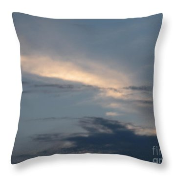 Dramatic Skyline Throw Pillow
