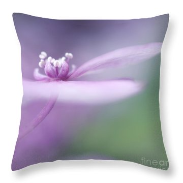 Dream A Little Dream Throw Pillow by Priska Wettstein