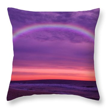 Dream Along The Ocean Throw Pillow