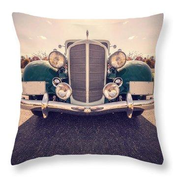 Dream Car Throw Pillow