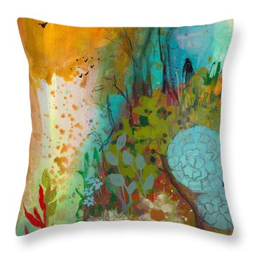 Dream Catcher Throw Pillow by Robin Maria Pedrero