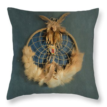 Throw Pillow featuring the photograph Dream Catcher by Tom Singleton