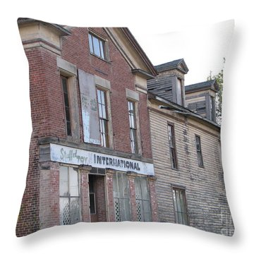 Throw Pillow featuring the photograph Dream House by Michael Krek