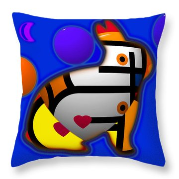 Dream Of Fields Throw Pillow
