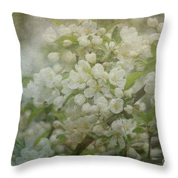 Dream Of Spring Throw Pillow by Arlene Carmel