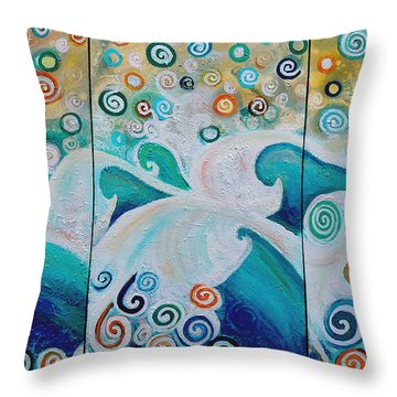 Dream Of The Ocean Throw Pillow