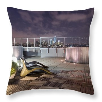 Dream On Until Tomorrow Throw Pillow by Evelina Kremsdorf
