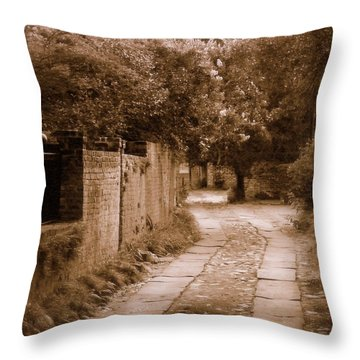 Throw Pillow featuring the photograph Dream Road by Rodney Lee Williams