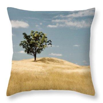 Dream Tree Throw Pillow by Scott Pellegrin
