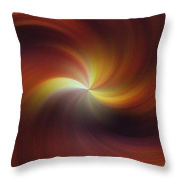 Dream Tunnel Throw Pillow by Jeff Swan