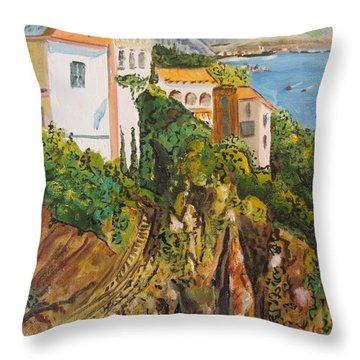 Dream Vacation Throw Pillow