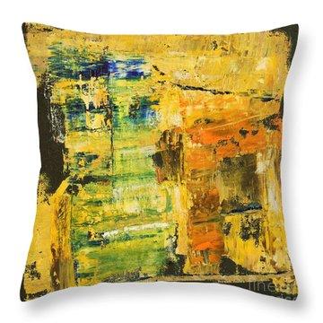 Dreamer Throw Pillow by Mini Arora