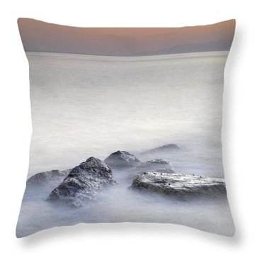 dreaming between the islands I Throw Pillow by Guido Montanes Castillo