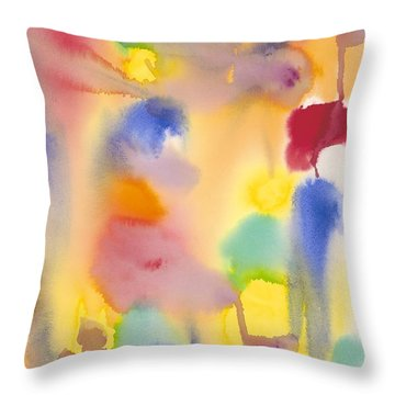 Dreaming In Color Throw Pillow