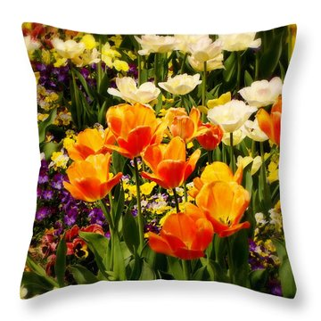 Dreaming In Color Throw Pillow by Rodney Lee Williams