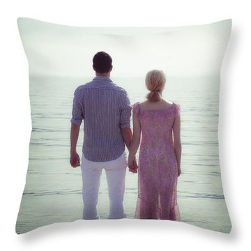 Dreaming Throw Pillow by Joana Kruse