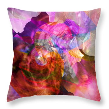 Dreaming Throw Pillow by Margie Chapman