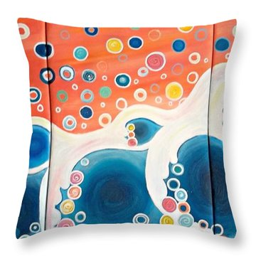 Dreaming Of The Ocean Throw Pillow