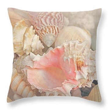 Dreaming Of The Seashore Throw Pillow