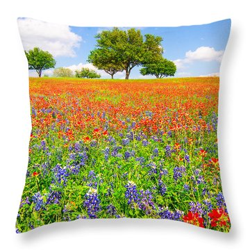 Dreaming Of Wildflowers Throw Pillow