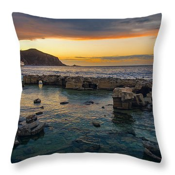 Dreaming Sunset Throw Pillow