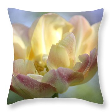 Throw Pillow featuring the photograph Dreaming by The Art Of Marilyn Ridoutt-Greene