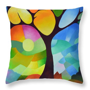 Dreaming Tree Throw Pillow
