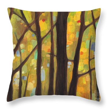 Dreaming Trees 1 Throw Pillow