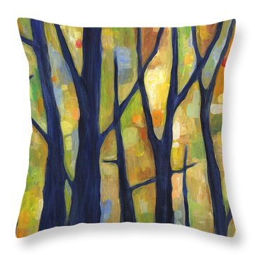 Dreaming Trees 2 Throw Pillow