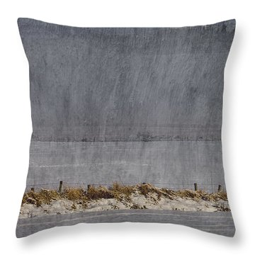 Dreaming Winter Throw Pillow