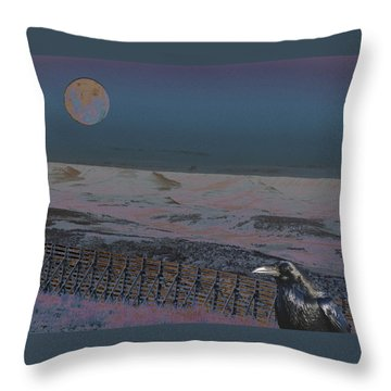 Dreamland Throw Pillow by Aurora Levins Morales