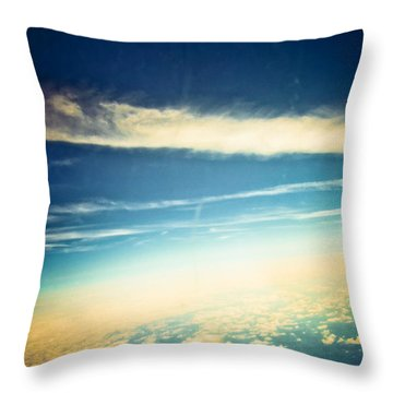 Throw Pillow featuring the photograph Dreamland by Sara Frank