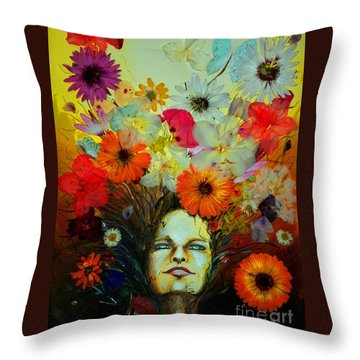 Dreams Throw Pillow by Alessandra Andrisani