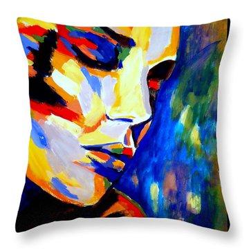 Dreams And Desires Throw Pillow by Helena Wierzbicki